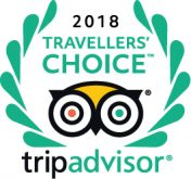 Trip Advisor 2018 Travellers' Choice award winner